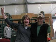 Volunteer free trial entries went to Jill Eckert and Dave Steinman.