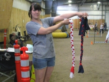 ...also Agility Leashes for sale too!  (short versions)