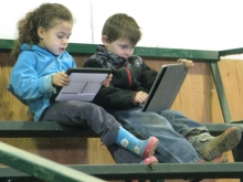 21st Century Kids and their iPADs