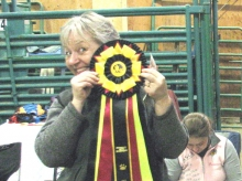 GOLD! for Linda and Caper