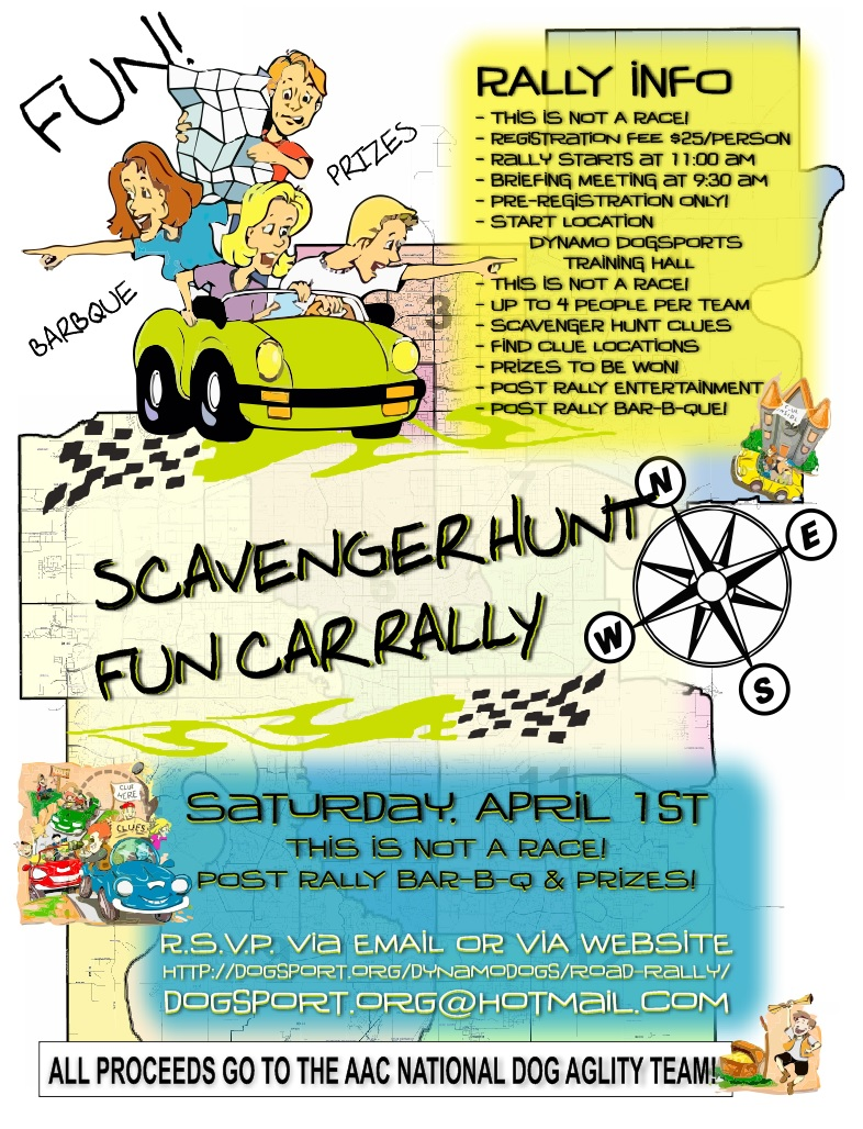 car-rally-poster